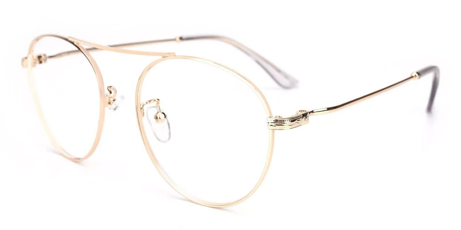 Chloe Gold Metal NosePads , Eyeglasses Frames from ABBE Glasses