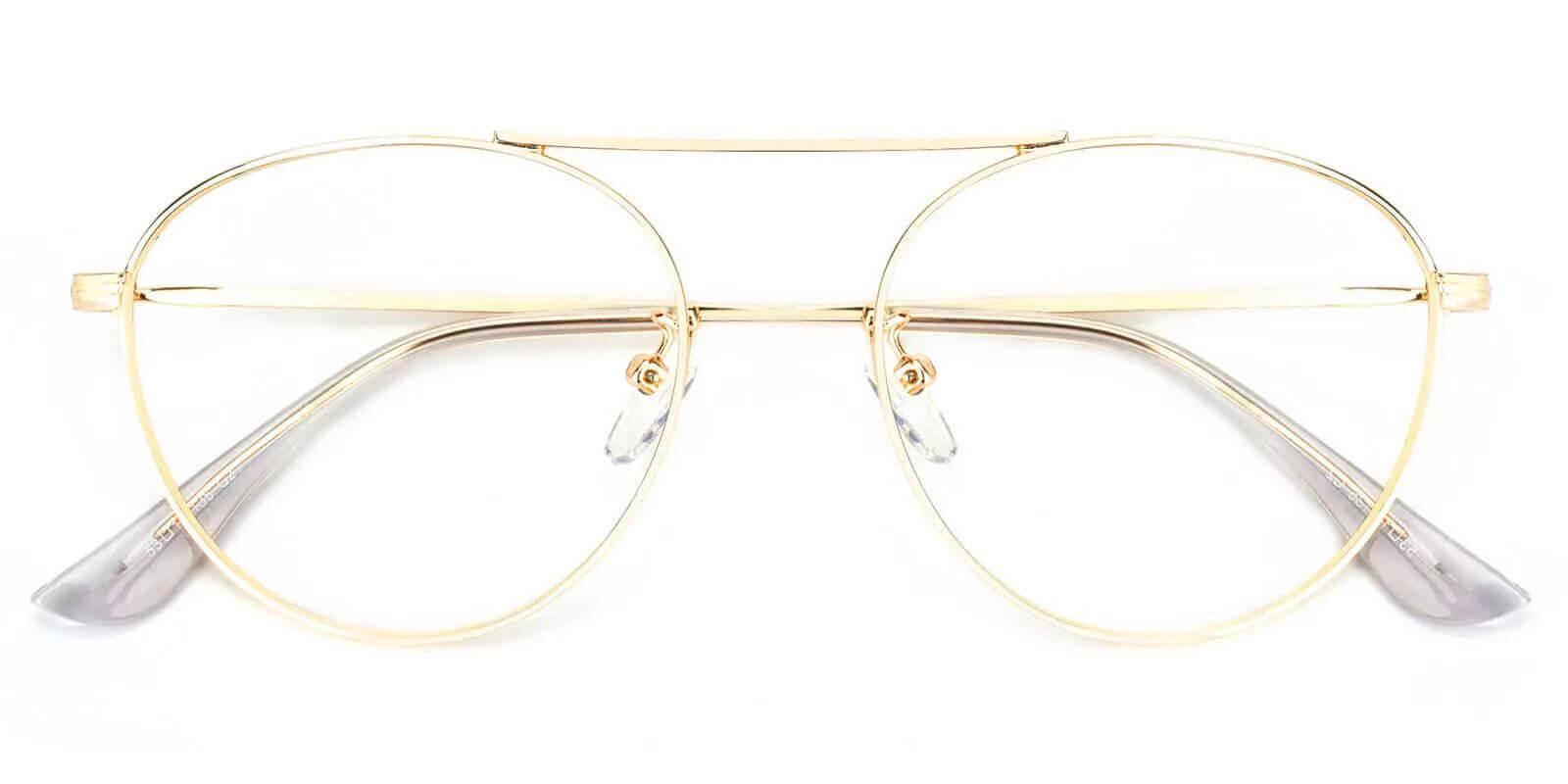 Chloe Gold Metal NosePads , Eyeglasses Frames from ABBE Glasses
