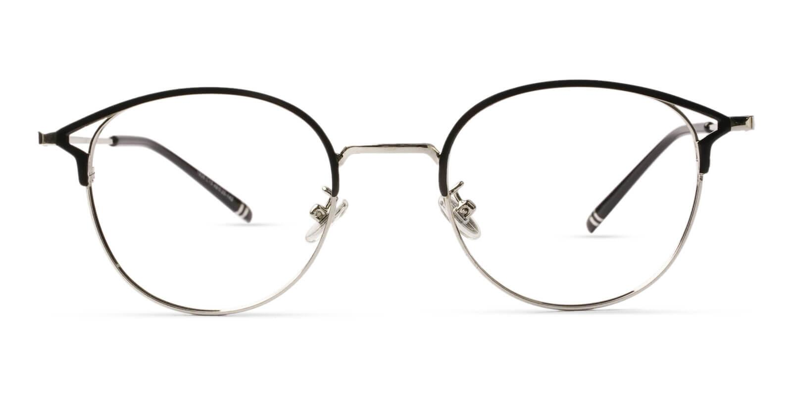 Haiti Silver Metal Eyeglasses , NosePads Frames from ABBE Glasses