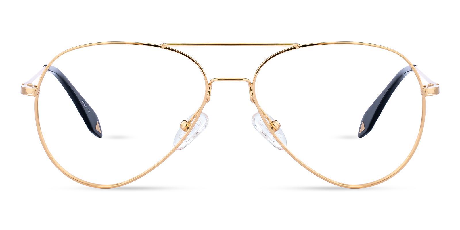 Malawi Gold Metal NosePads , Eyeglasses Frames from ABBE Glasses