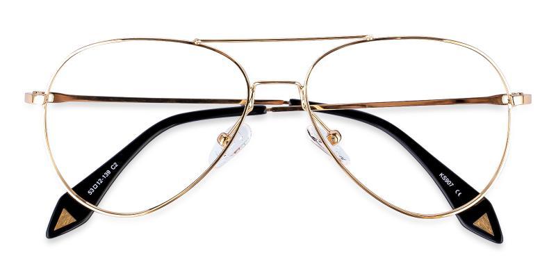 Gold Malawi - Metal NosePads , Eyeglasses