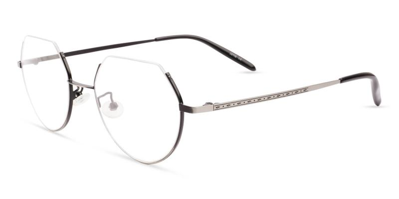 Silver Indonesia - Metal Lightweight , NosePads , Eyeglasses