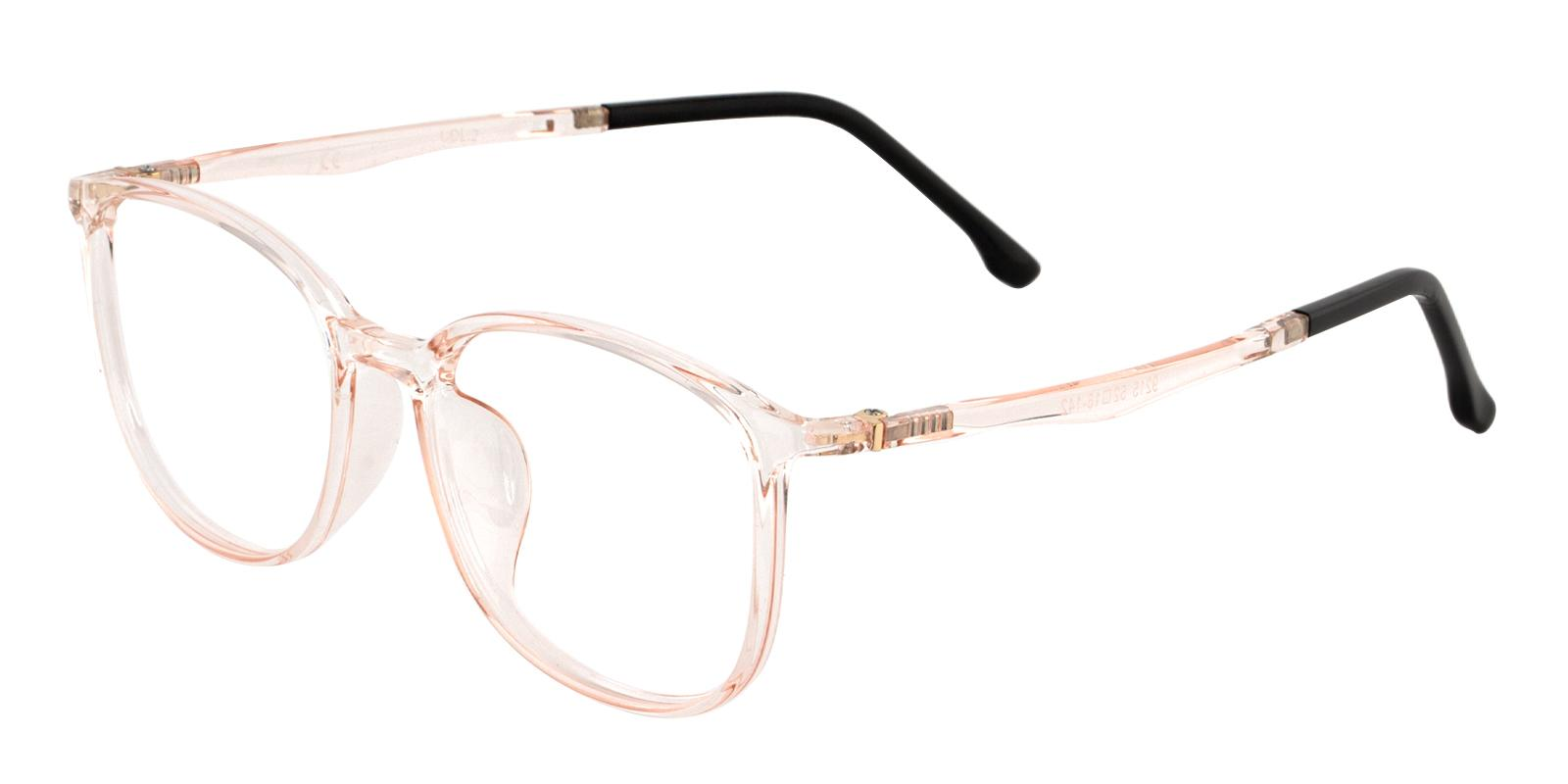 Leah Orange TR Eyeglasses , Lightweight , UniversalBridgeFit Frames from ABBE Glasses
