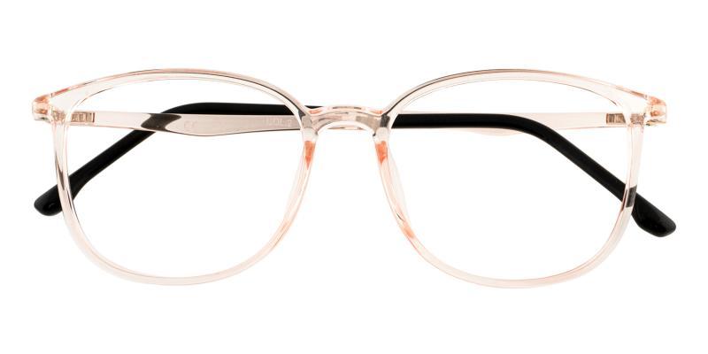 Orange Leah - TR Lightweight , UniversalBridgeFit , Eyeglasses