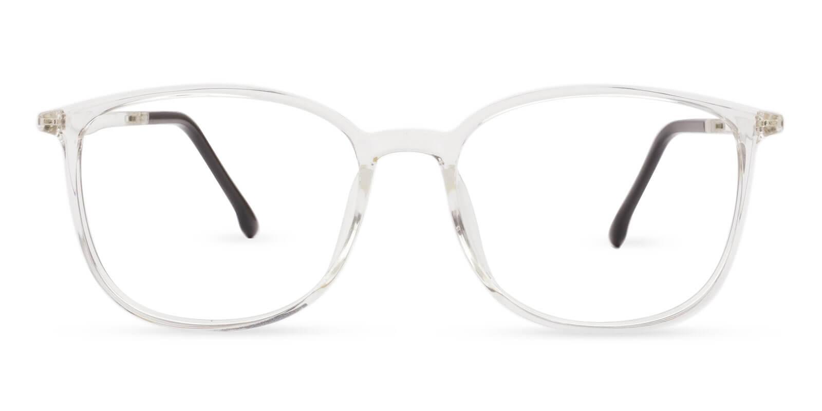 Leah Translucent TR Eyeglasses , Lightweight , UniversalBridgeFit Frames from ABBE Glasses