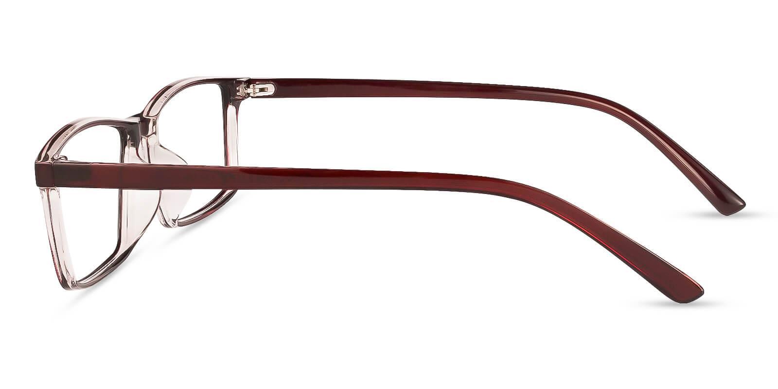 Eliana Red TR Eyeglasses , Lightweight , UniversalBridgeFit Frames from ABBE Glasses