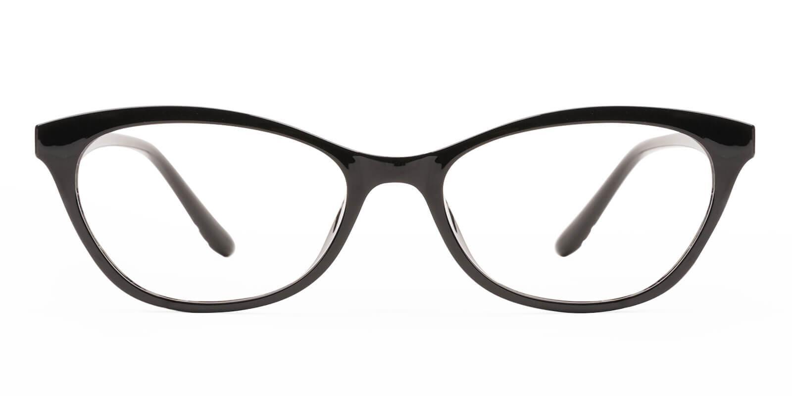 Arya Black TR Eyeglasses , UniversalBridgeFit Frames from ABBE Glasses