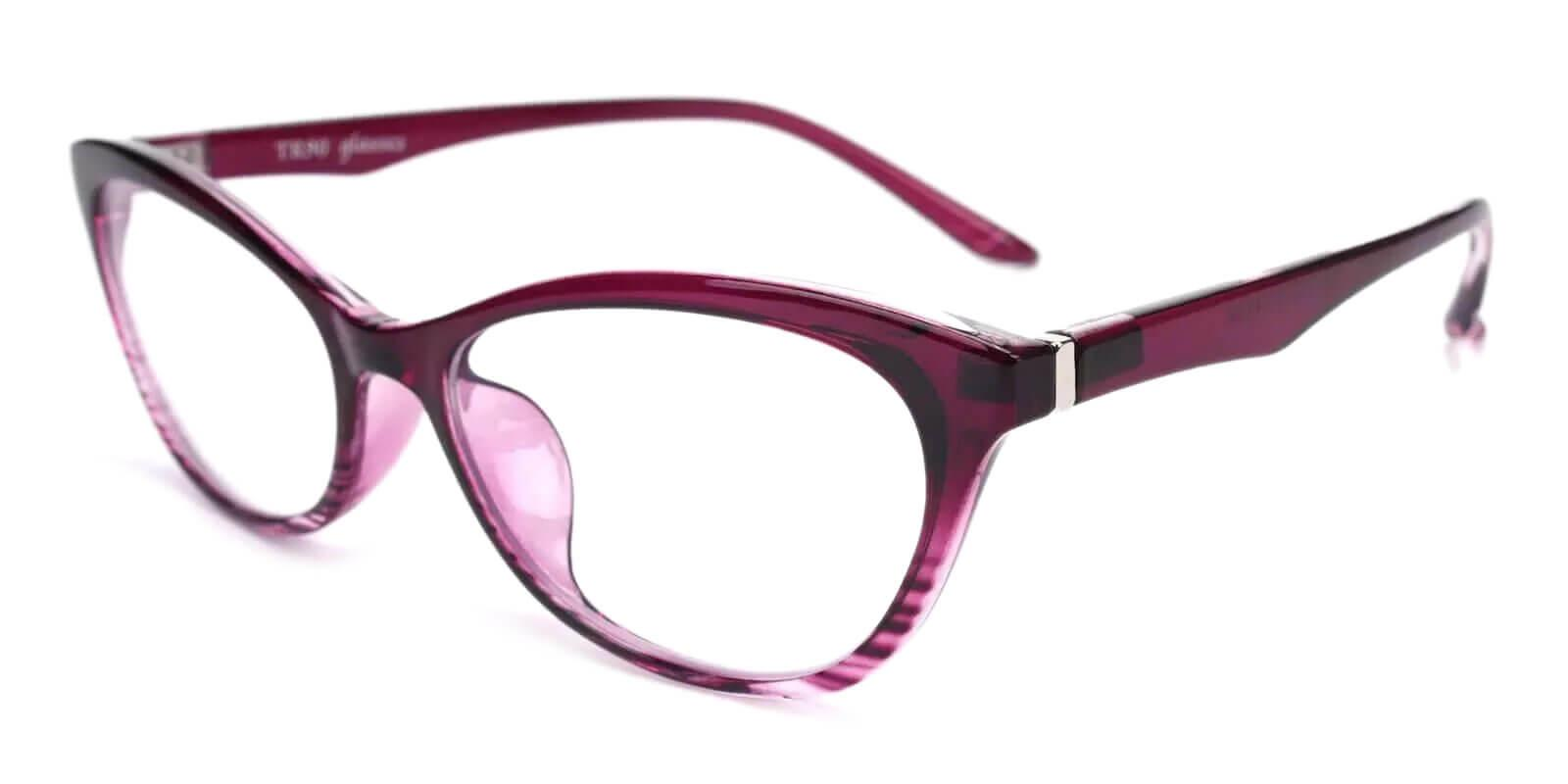 Arya Purple TR UniversalBridgeFit , Eyeglasses Frames from ABBE Glasses