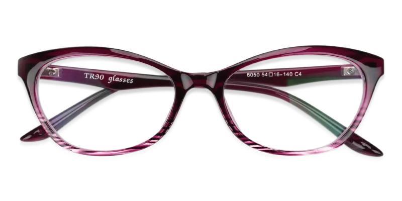 Purple Arya - TR UniversalBridgeFit , Eyeglasses