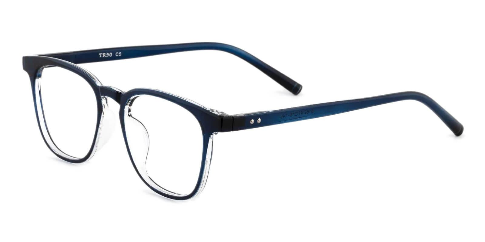 Zaire Blue TR Eyeglasses , UniversalBridgeFit Frames from ABBE Glasses