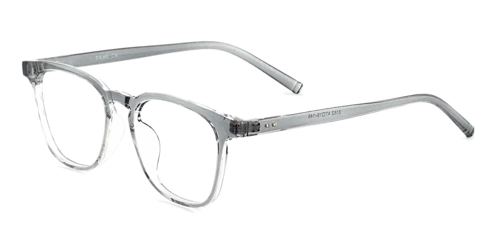 Zaire Gray TR Eyeglasses , UniversalBridgeFit Frames from ABBE Glasses