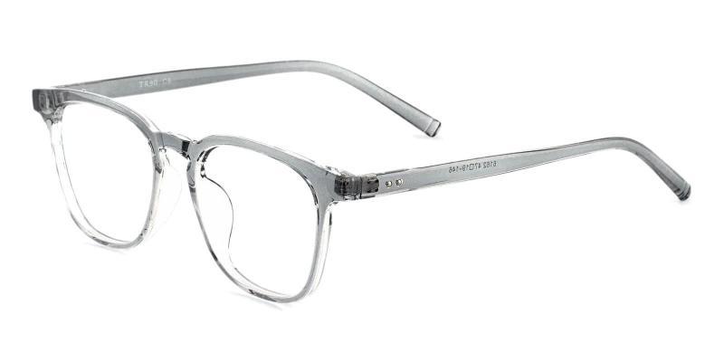 Gray Zaire - TR Eyeglasses , UniversalBridgeFit