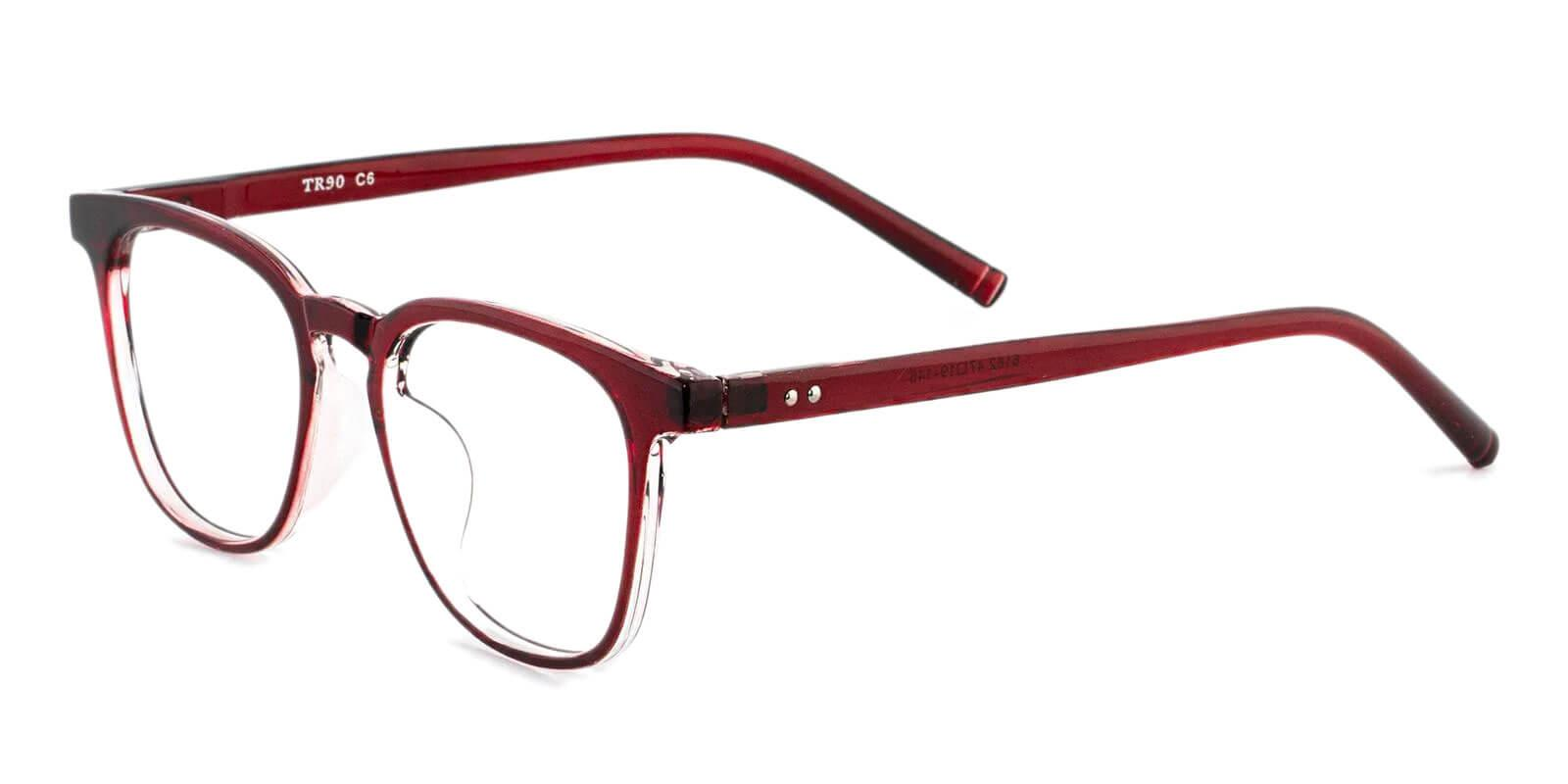 Zaire Red TR Eyeglasses , UniversalBridgeFit Frames from ABBE Glasses