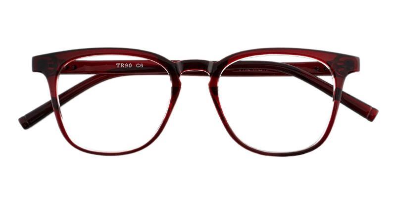 Red Zaire - TR Eyeglasses , UniversalBridgeFit