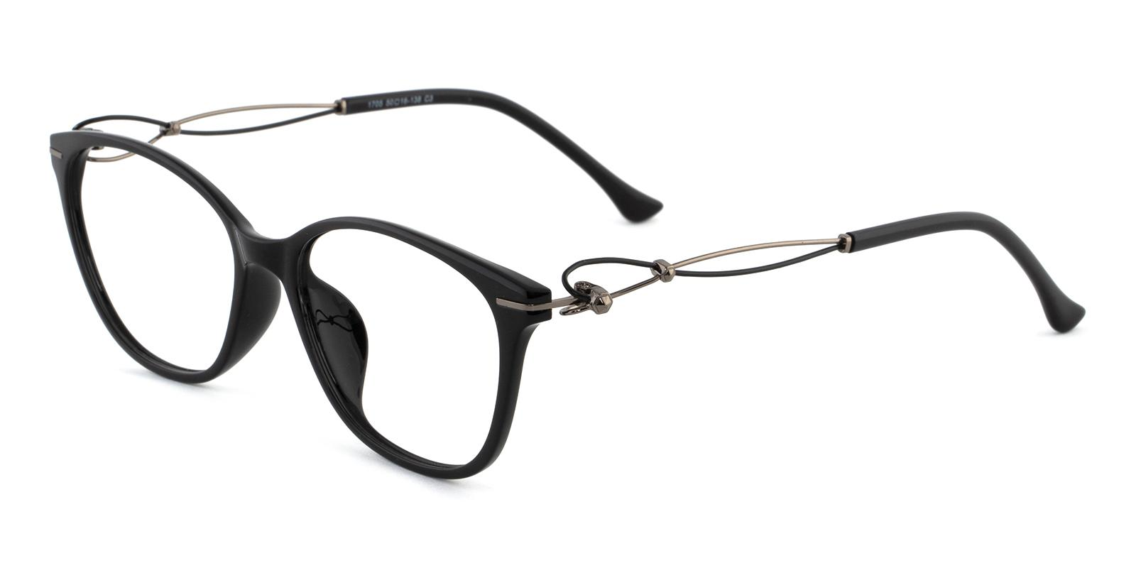 Maria Black Metal , TR Eyeglasses , Lightweight , UniversalBridgeFit Frames from ABBE Glasses