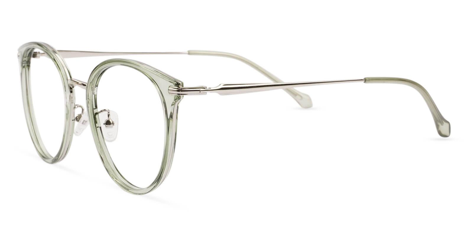 Naomi Green Metal , TR NosePads , Eyeglasses Frames from ABBE Glasses