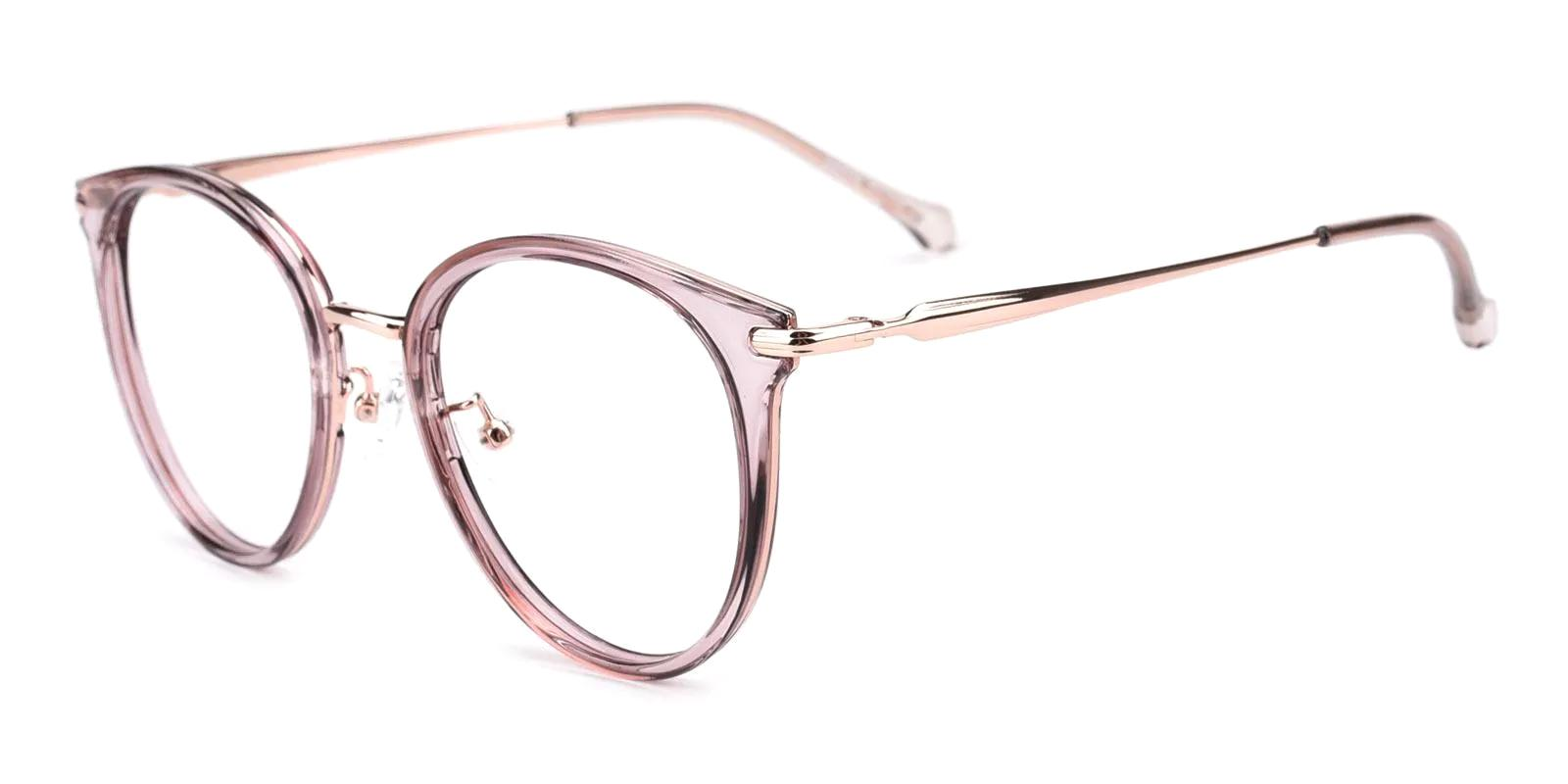 Naomi Pink Metal , TR NosePads , Eyeglasses Frames from ABBE Glasses