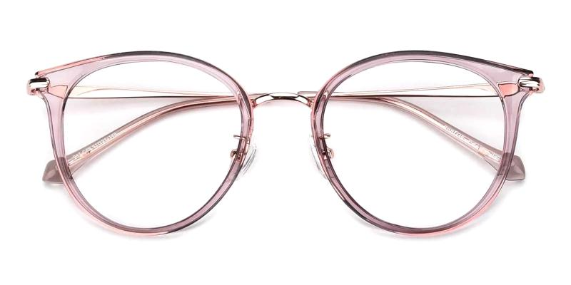 Pink Naomi - Metal , TR NosePads , Eyeglasses