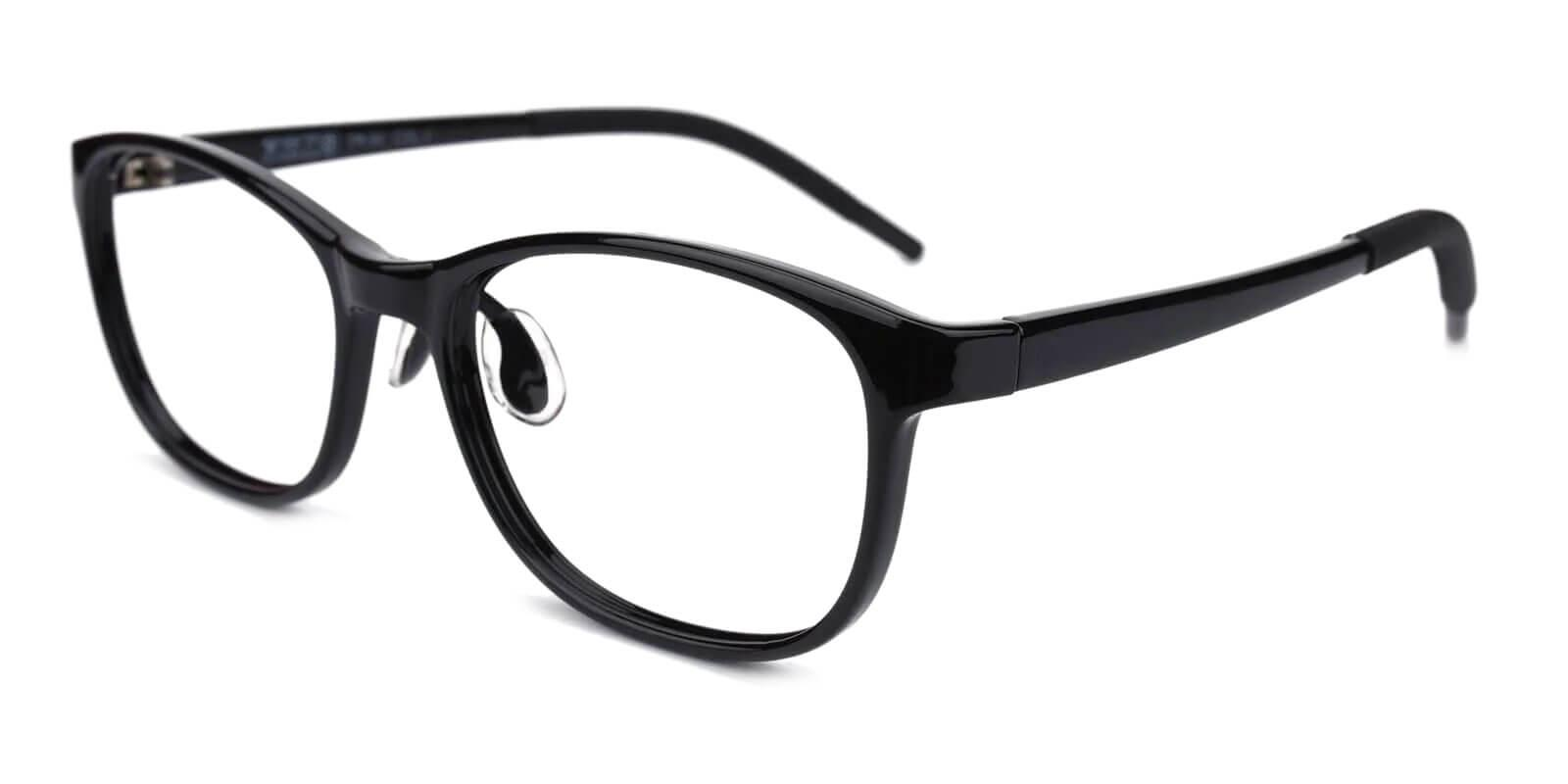 Kids-Coco Black TR Eyeglasses , Lightweight , UniversalBridgeFit Frames from ABBE Glasses