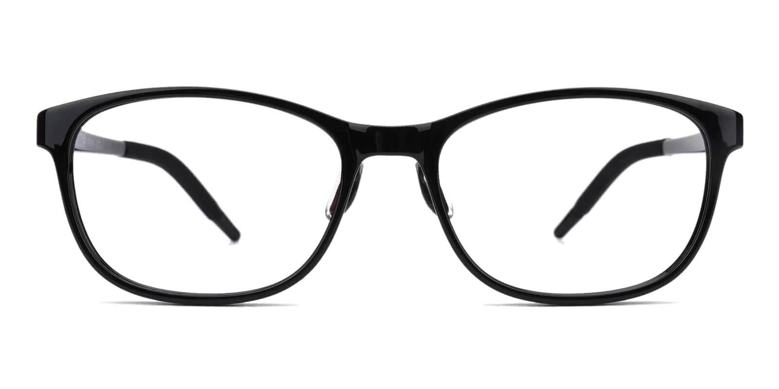 Latham Park Black TR Eyeglasses , Lightweight , UniversalBridgeFit Frames from ABBE Glasses