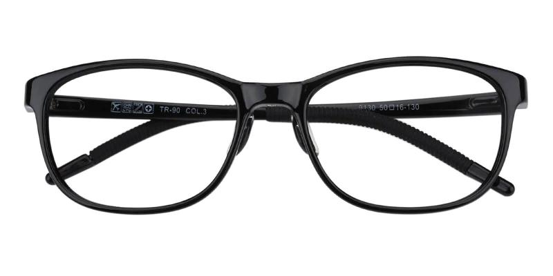 Black Kids-Coco - TR Eyeglasses , Lightweight , UniversalBridgeFit