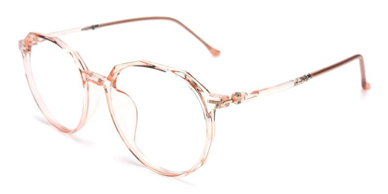 Orange Ruby - TR Lightweight , UniversalBridgeFit , Eyeglasses