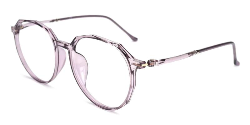 Purple Ruby - TR Lightweight , UniversalBridgeFit , Eyeglasses