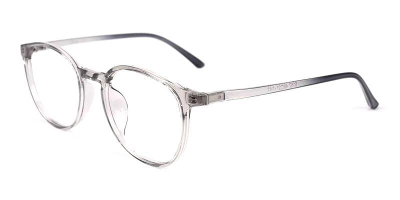 Gray Denmark - TR Eyeglasses , Lightweight , UniversalBridgeFit