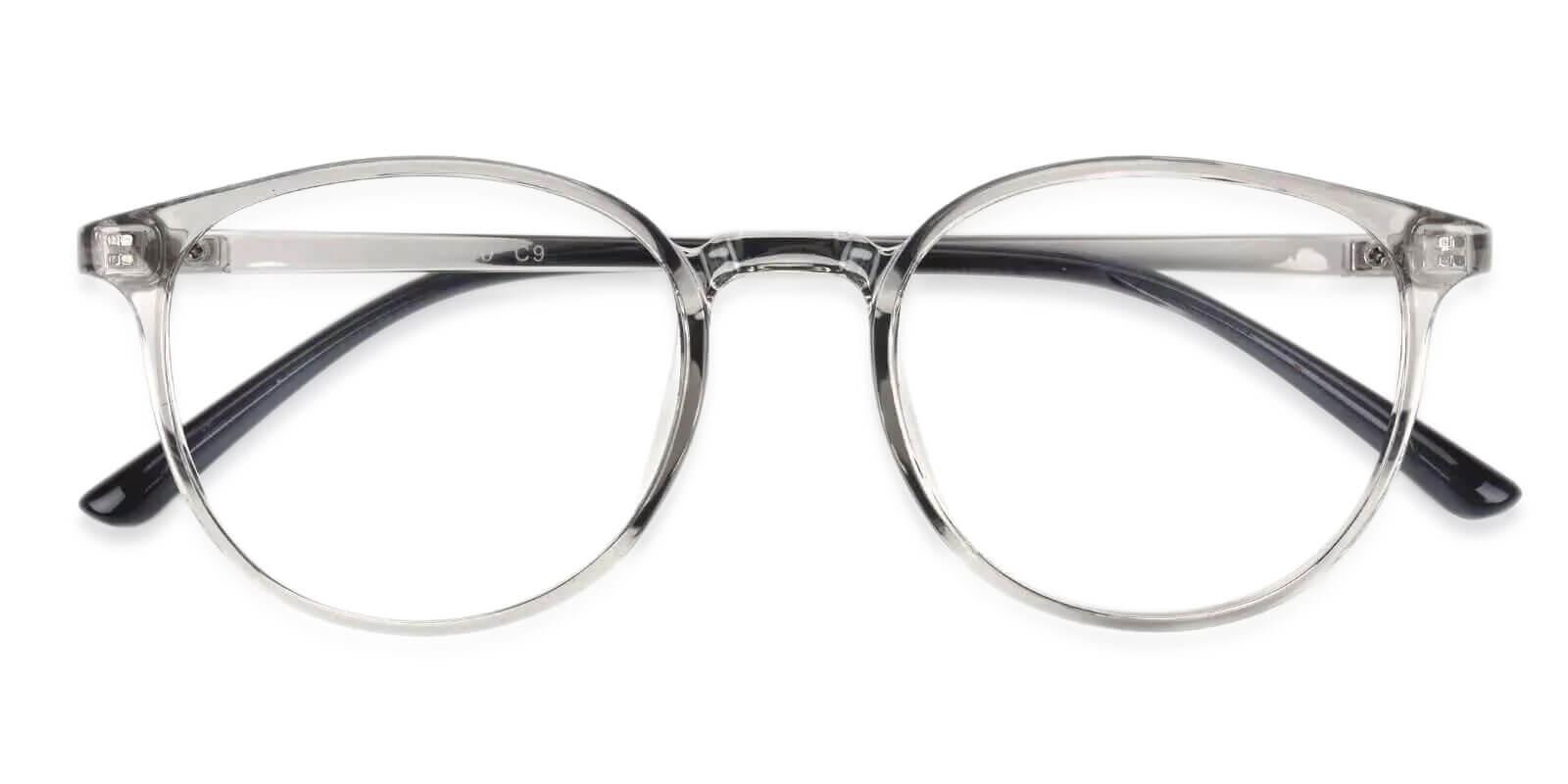 Denmark Gray TR Eyeglasses , Lightweight , UniversalBridgeFit Frames from ABBE Glasses