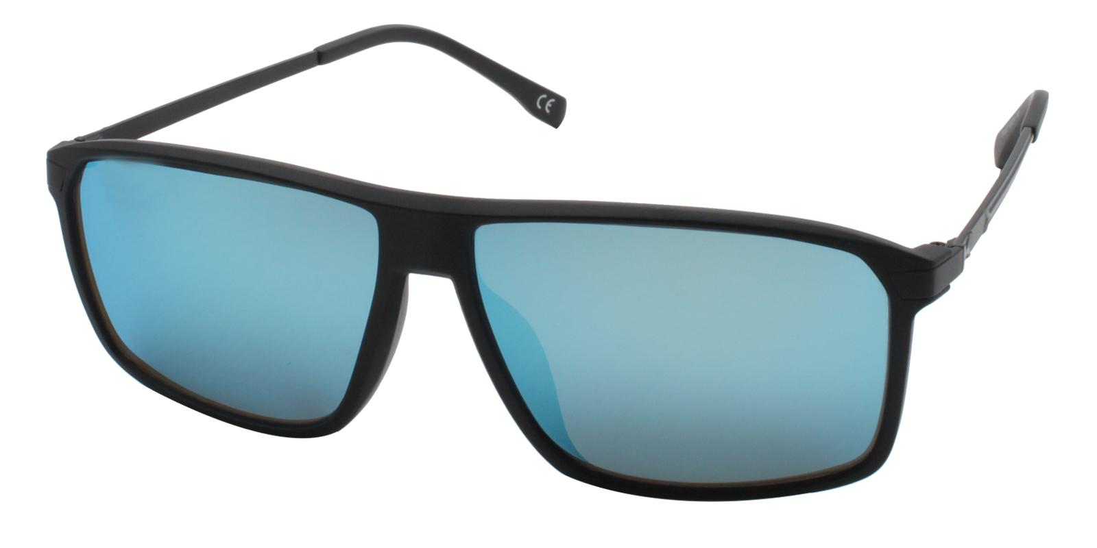 Burundi Black TR Sunglasses , UniversalBridgeFit Frames from ABBE Glasses
