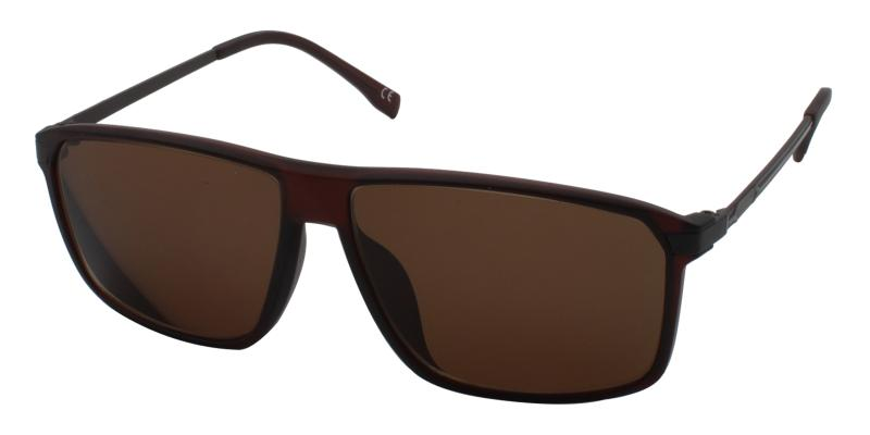 Brown Burundi - TR Sunglasses , UniversalBridgeFit
