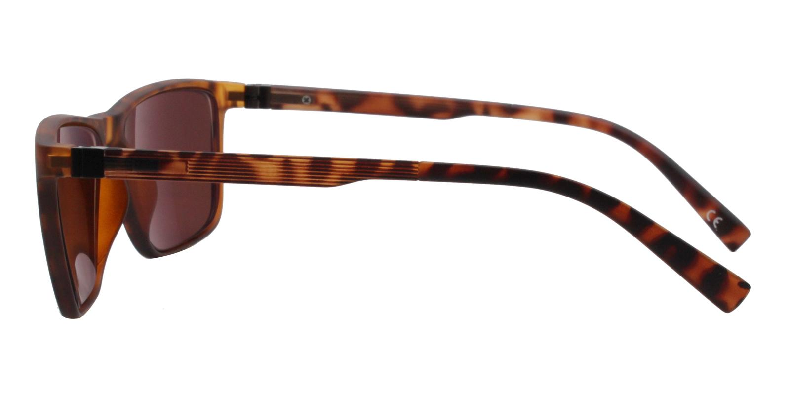 Reunion Brown TR Sunglasses , UniversalBridgeFit Frames from ABBE Glasses