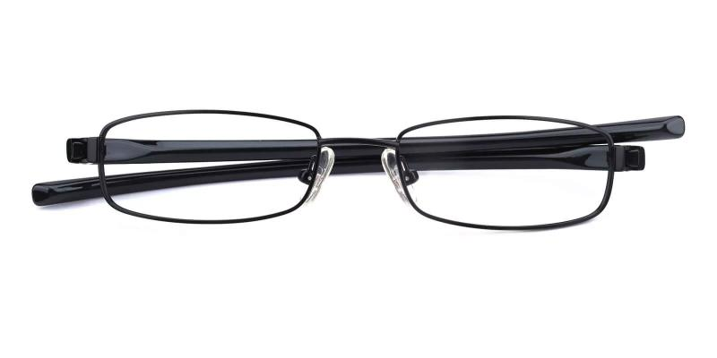 Samuel - Metal Eyeglasses , Lightweight , NosePads