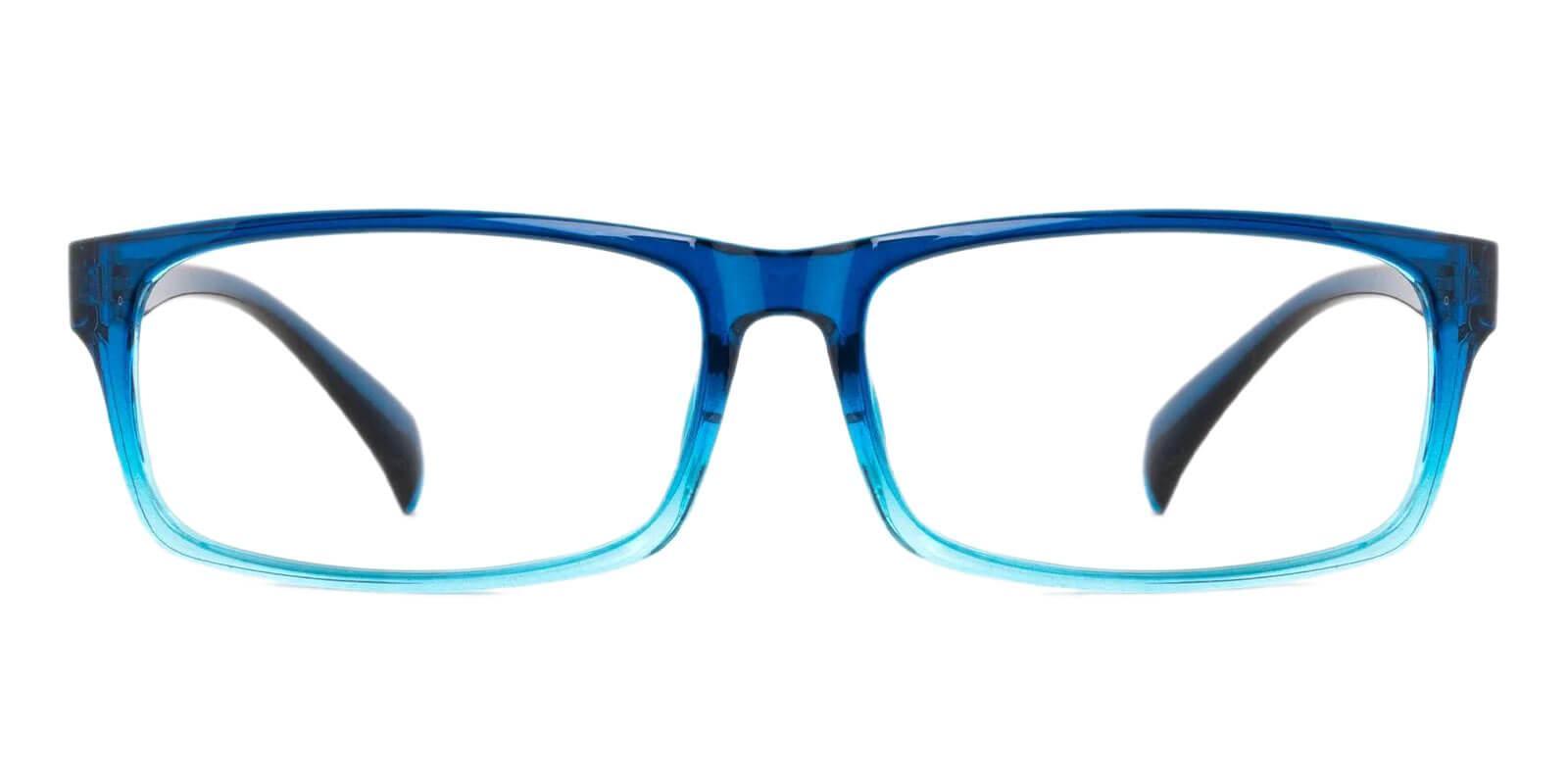 Isaiah Blue TR Eyeglasses , UniversalBridgeFit Frames from ABBE Glasses