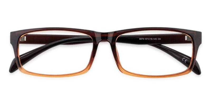 Brown Isaiah - TR Eyeglasses , UniversalBridgeFit