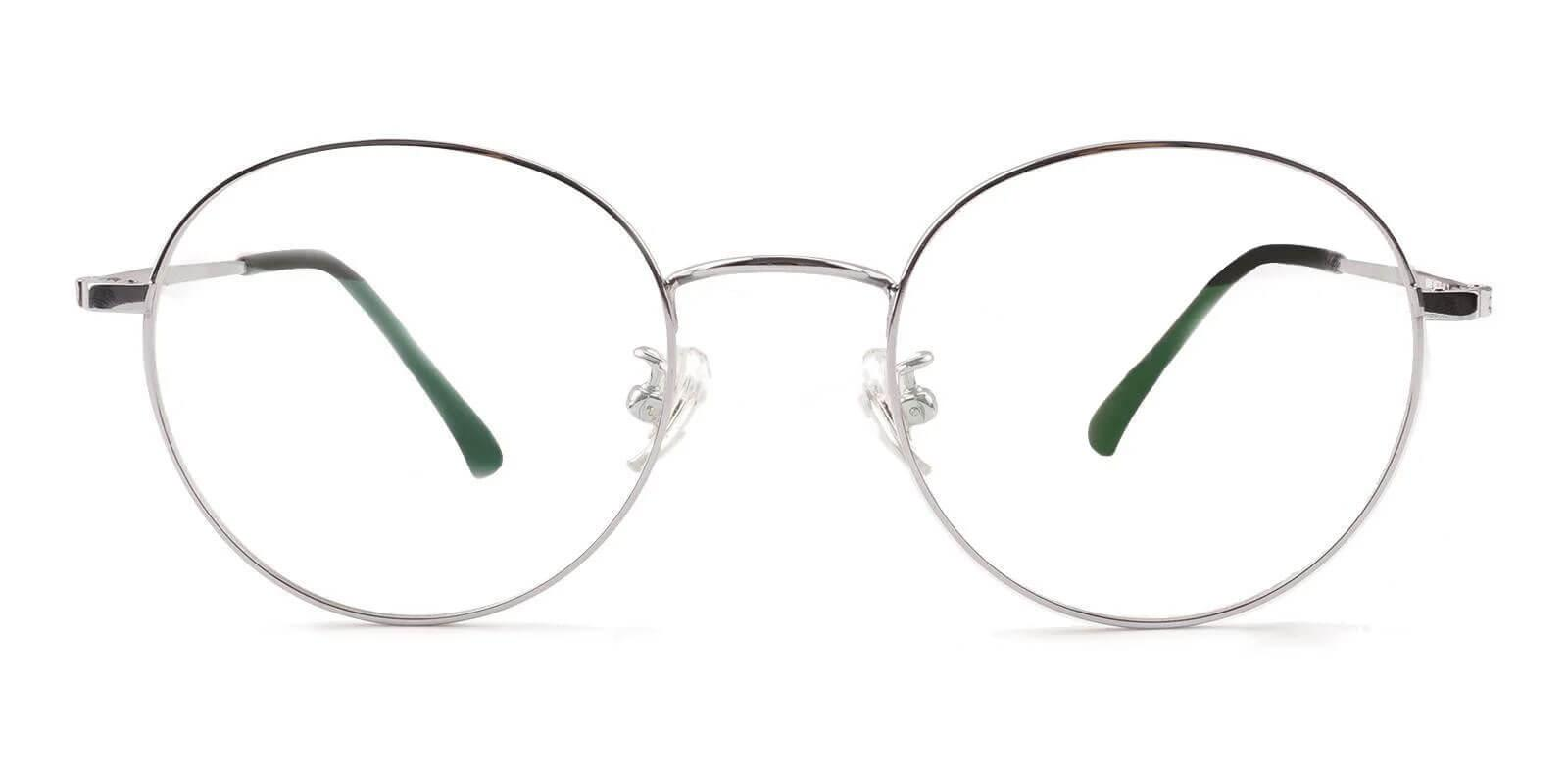 Peyton Silver Titanium Eyeglasses , Lightweight , NosePads Frames from ABBE Glasses