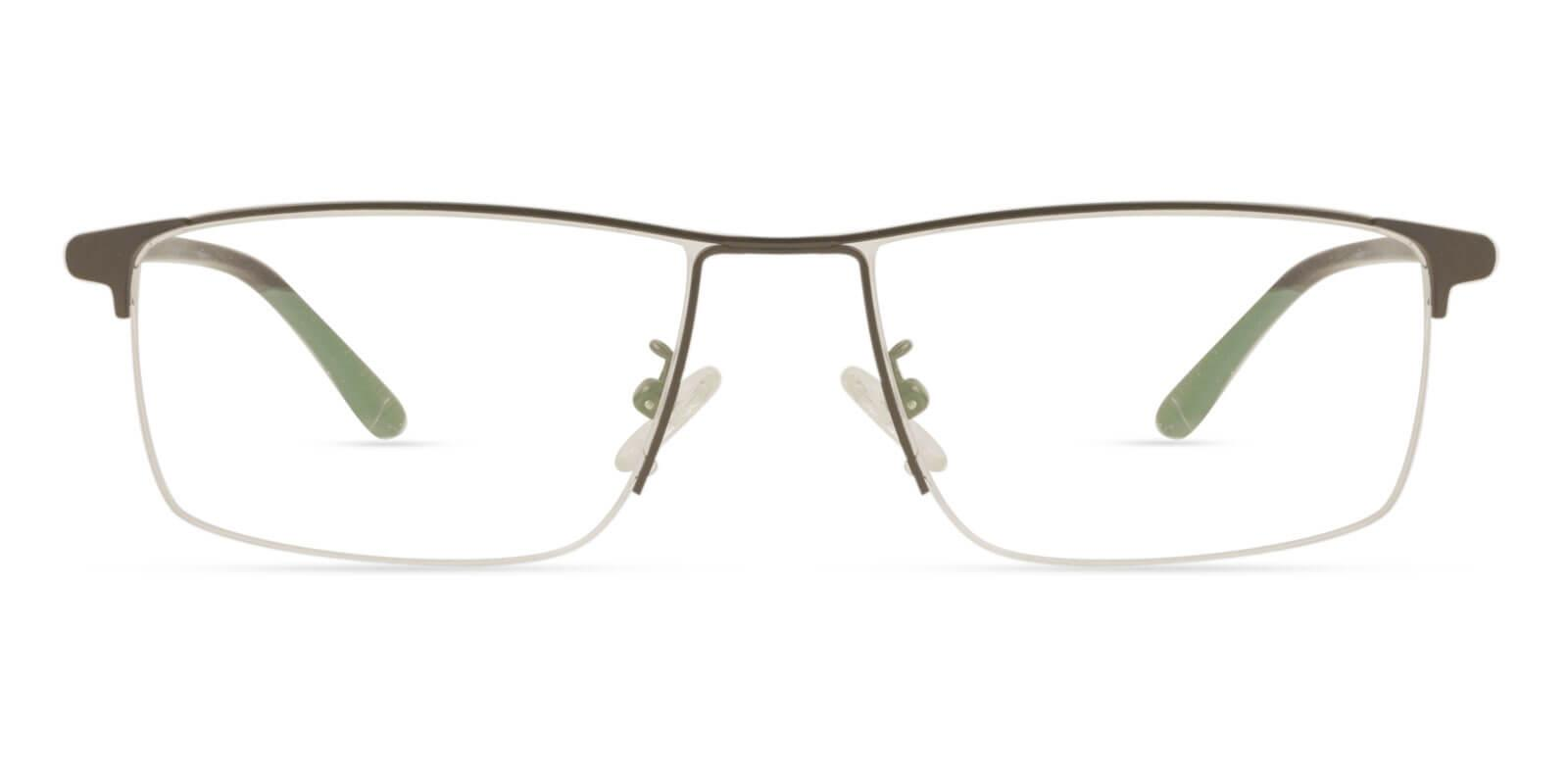 Isaac Brown Metal Eyeglasses , NosePads Frames from ABBE Glasses