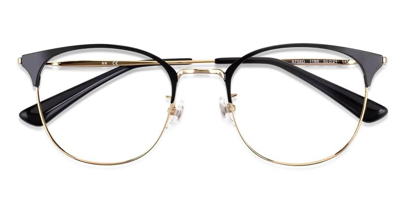 Gold Delilah - Titanium NosePads , Eyeglasses , Lightweight