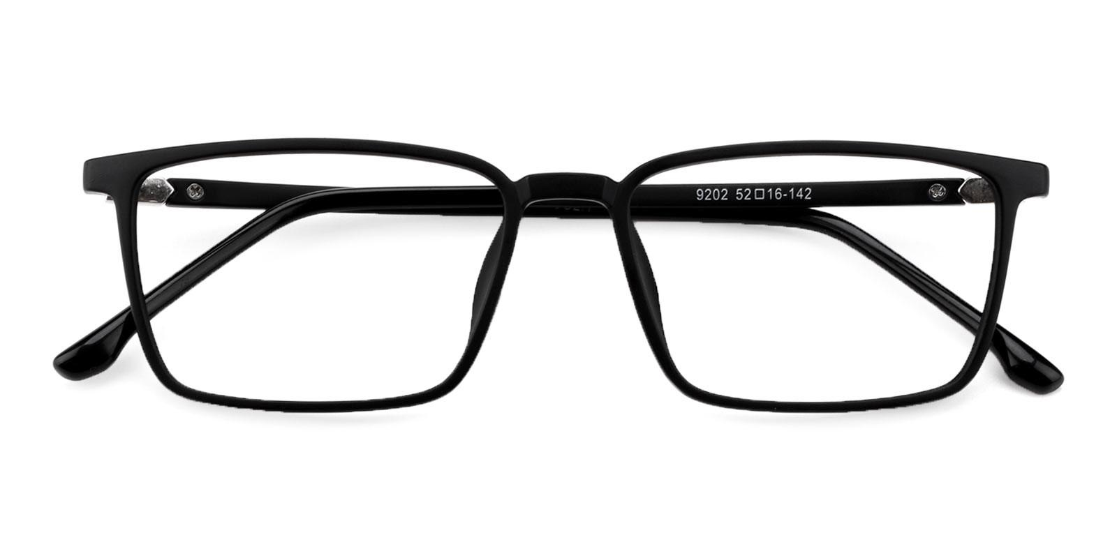 Syria Black TR Eyeglasses , UniversalBridgeFit Frames from ABBE Glasses
