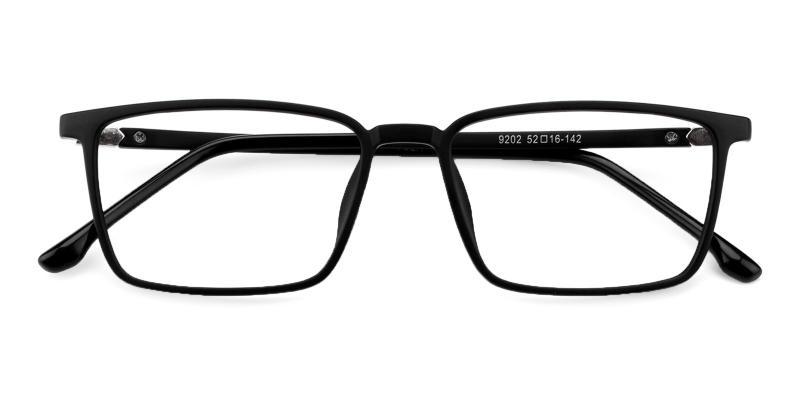 Black Syria - TR Eyeglasses , UniversalBridgeFit