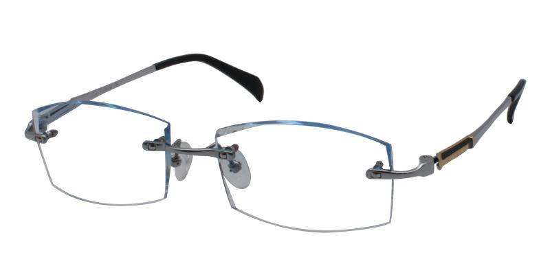 Blue Adam - Titanium Eyeglasses , NosePads