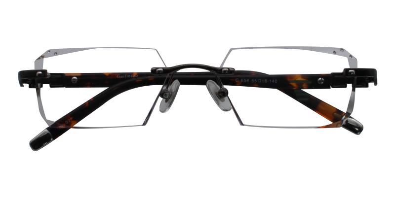Gray Somalia - Titanium NosePads , Eyeglasses