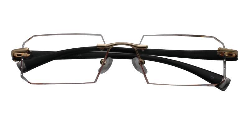 Julia - Titanium Eyeglasses , NosePads