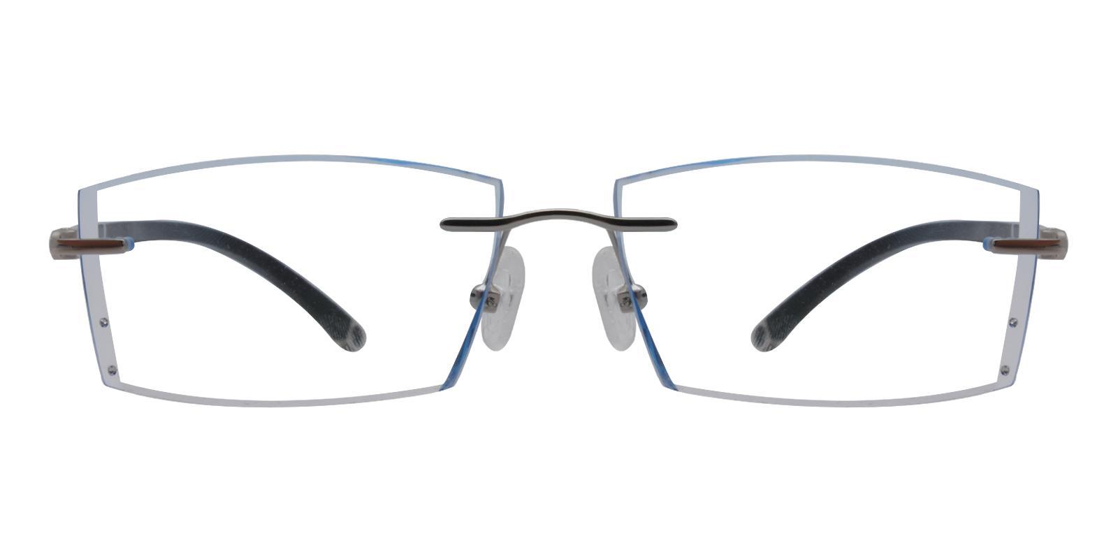 John Blue Titanium Eyeglasses , NosePads Frames from ABBE Glasses