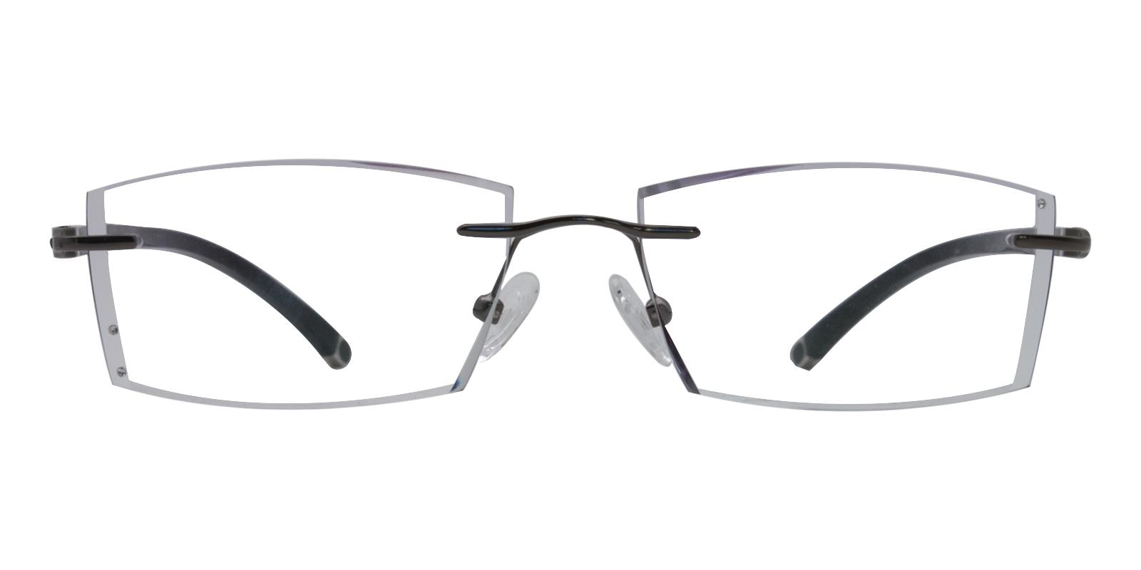 John Gray Titanium Eyeglasses , NosePads Frames from ABBE Glasses