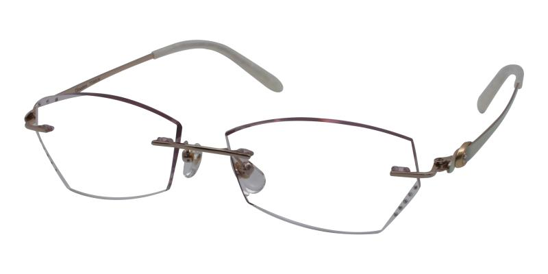 Rylee - Titanium Eyeglasses , NosePads