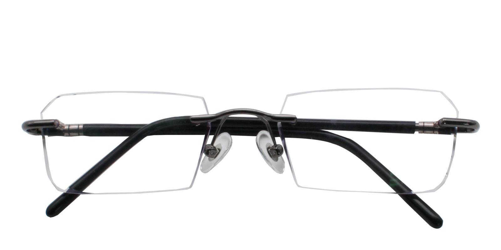 Asher Gray Titanium NosePads , Eyeglasses Frames from ABBE Glasses