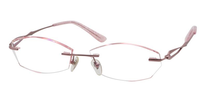 Pink Clara - Titanium NosePads , Eyeglasses