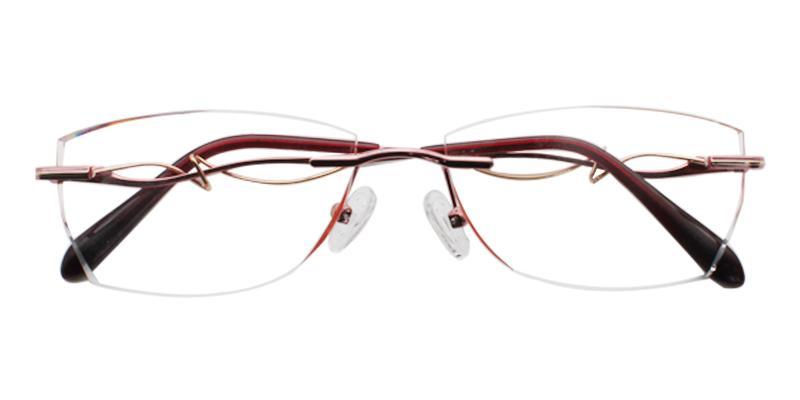 Sadie - Titanium Eyeglasses , NosePads