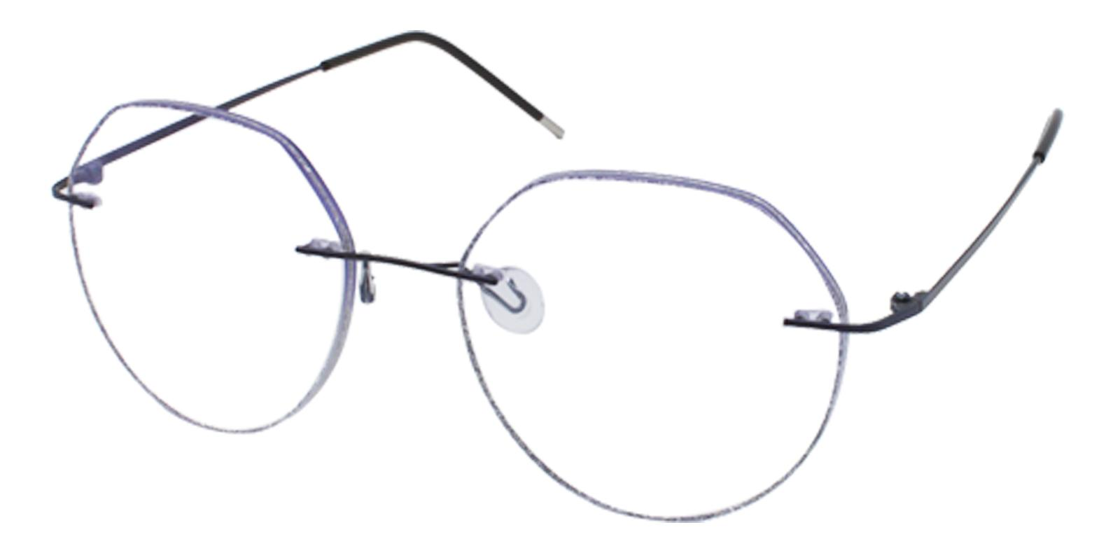 Piper Black Titanium NosePads , Eyeglasses Frames from ABBE Glasses